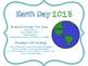 2018 EARTH DAY GRADE 6 MATH TASK CARDS