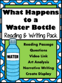 EARTH DAY IN ELA-Reading, Writing, & Activity {What Happens to a Water Bottle}