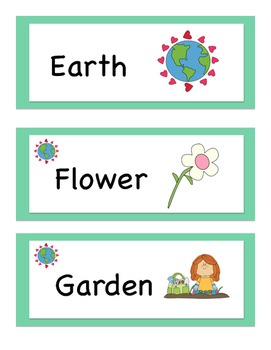 EARTH DAY Kindergarten Literacy BUNDLE!
