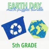 EARTH DAY MATH ACTIVITIES - FIFTH GRADE BUNDLE