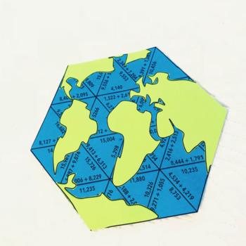 EARTH DAY MATH ACTIVITIES  - FIFTH GRADE GLOBE