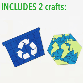 EARTH DAY MATH ACTIVITIES - FOURTH GRADE BUNDLE