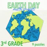 EARTH DAY MATH ACTIVITIES - THIRD GRADE GLOBE