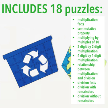EARTH DAY MULTIPLICATION AND DIVISION PROJECT