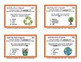 EARTH DAY PARTS OF SPEECH PLUS MINI-POSTERS