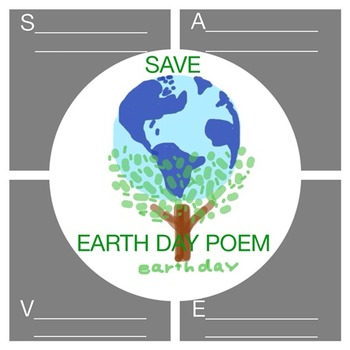 FREEBIE EARTH DAY POEM  (Love the Earth everyday)