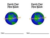 EARTH DAY Read & Do Mini Book