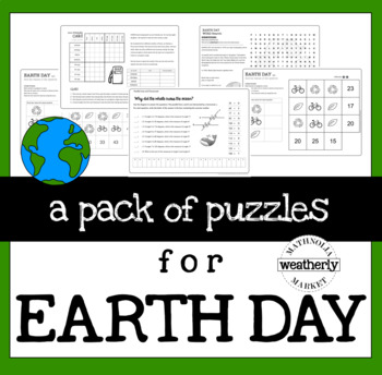 EARTH DAY - a pack of puzzles