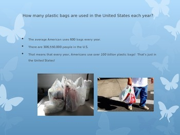 EARTH DAY and the effects of plastics!