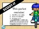 EARTH DAY math scoot - Double-digit Addition