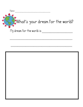 EARTH DAY- my dream for the world