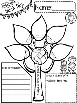 EARTH DAY {{quick topics}} one interactive worksheet