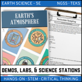 EARTH'S ATMOSPHERE - Demo, Labs and Science Stations