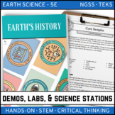 EARTH'S HISTORY (A Trip Through) - Demo, Labs and Science Stations