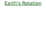 EARTH'S ROTATION New and Improved 2020