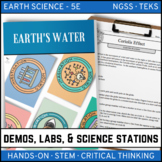 EARTH'S WATERS - Demo, Labs and Science Stations