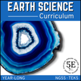 EARTH SCIENCE CURRICULUM - A COMPLETE COURSE ~ 5 E Model