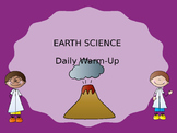 EARTH SCIENCE DAILY WARM-UPS