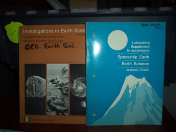 EARTH SCIENCE GEO EARTH SCIENCE   (SET OF 2)