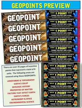EARTH SCIENCE: GEOPOINTS