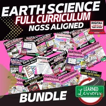 EARTH SCIENCE MEGA BUNDLE (Earth Science BUNDLE, Curriculum)