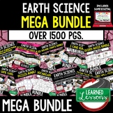 EARTH SCIENCE MEGA BUNDLE (Earth Science BUNDLE, Curriculum)