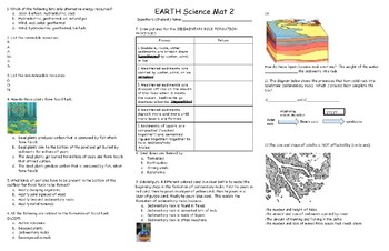 EARTH Science Mat 2