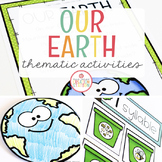 EARTH THEME ACTIVITIES FOR PRESCHOOL, PRE-K AND KINDERGARTEN