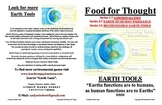 Food For Thought-Connecting earth functions  to human functions.