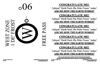 EARTH TOOLS-The Polar Freeze-Instructions