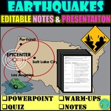 EARTHQUAKES, FAULTS, SEISMIC WAVES UNIT- Distance Learning