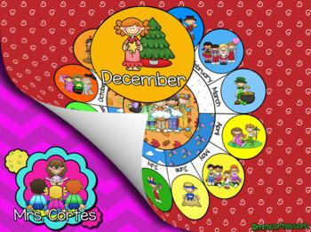 EASITEACH Calendar Math- December (English)