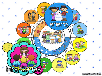 EASITEACH Calendar Math- Enero (Spanish)