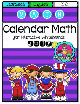 EASITEACH Calendar Math- July (English)