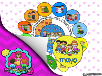 EASITEACH Calendar Math- Mayo (Spanish)