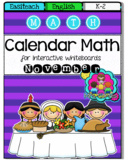 EASITEACH Calendar Math- November (English)