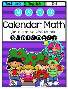 EASITEACH Calendar Math- September (English)