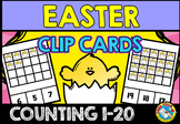 EASTER MATH CENTER: COUNTING EASTER CHICKS: NUMBERS 1-20