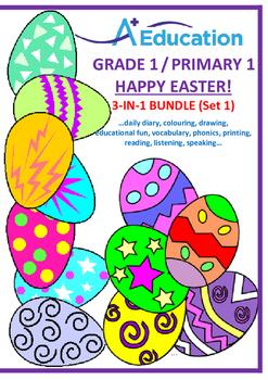 EASTER  3-IN-1 BUNDLE (Set 1) - Grade 1