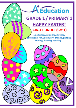 EASTER  3-IN-1 BUNDLE (Set 1) - Grade 1