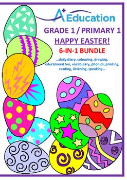 EASTER  6-IN-1 BUNDLE - Grade 1