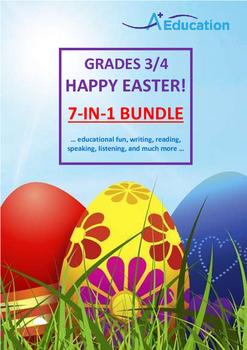 EASTER  7-IN-1 BUNDLE - Grades 3&4