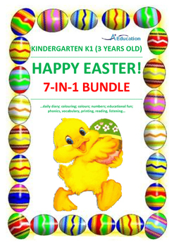 EASTER  7-IN-1 Bundle - Kindergarten 1 (3 Years Old)