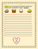 EASTER ACROSTIC ACTIVITY: A HOLIDAY WRITING CELEBRATION!