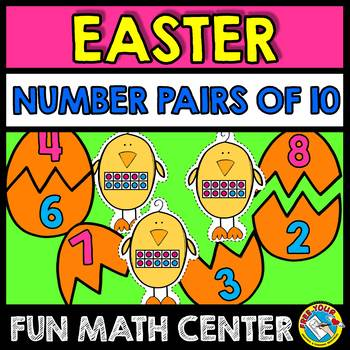 EASTER ACTIVITIES (NUMBER PAIRS OF 10 ACTIVITY) EASTER KIN
