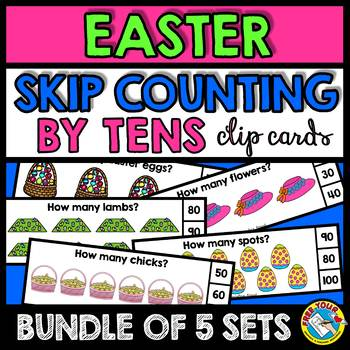 EASTER ACTIVITIES (SKIP COUNTING CLIP CARDS BUNDLE) SKIP C