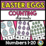 EASTER ACTIVITY KINDERGARTEN (EGGS COUNTING TO 20) APRIL M