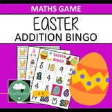 EASTER ADDITION BINGO Easter Adding Game