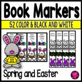 Spring Theme Rewards Book Markers