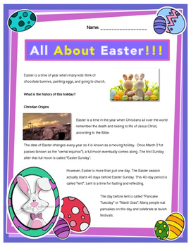 EASTER // All About Easter